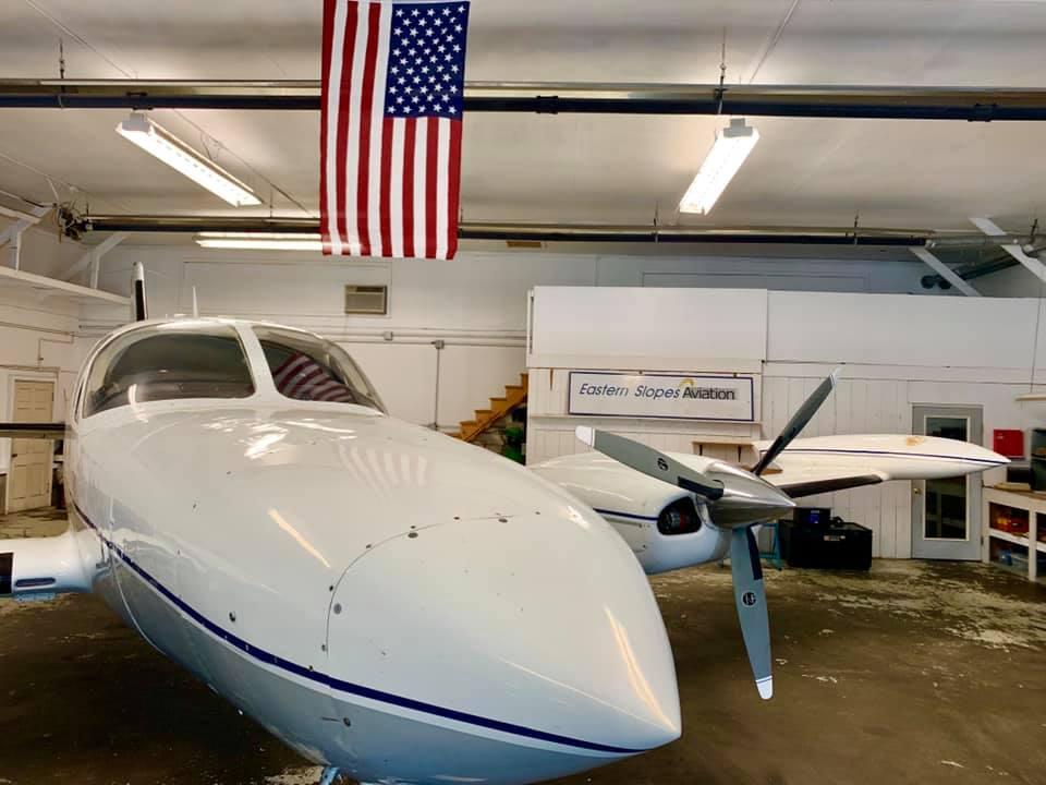 Eastern Slope Airport hangar rentals